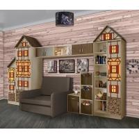 Комплект детской мебели Домик Фанки Кидз №3