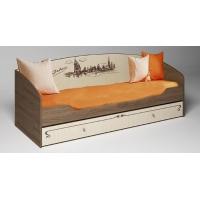 Кровать с выдвижным ящиком ФТР-01