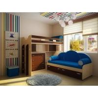 Детская модульная мебель Фанки Кидз 22 (композиция 8)