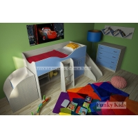 Детская модульная мебель Фанки Кидз 6 (композиция 4)