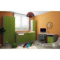 Детская модульная мебель Фанки Кидз 9 (композиция 4)
