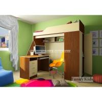 Детская модульная мебель Фанки Кидз 11 (композиция 6)