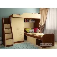Детская модульная мебель Фанки Кидз 4 (композиция 1)