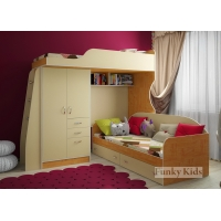 Детская модульная мебель Фанки Кидз 4 (композиция 5)