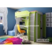 Детская кровать чердак с рабочей зоной Фанки Кидз 11