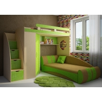 Детская модульная мебель Фанки Кидз 3 (композиция 6)