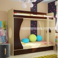 Двухъярусная кровать Фанки Кидз -2