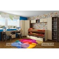 Детская модульная мебель Фанки Кидз 8 (композиция 7)