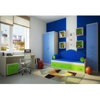 Детская модульная мебель Фанки Сити (композиция 6)