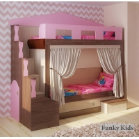 Двухъярусная детская кровать Фанки Хоум 11002