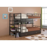 Двухъярусная кровать Севилья-2 ПЯ с лестницей