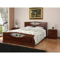 Кровать Елена-5 (орех) 120 см