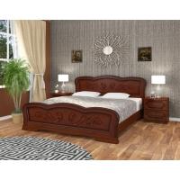 Кровать Карина-8 (орех) 140 см