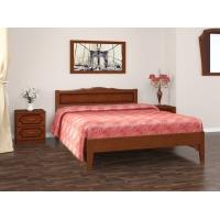 Кровать Карина-7 (орех) 120 см