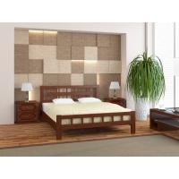 Кровать из массива Натали-5 (орех) 140 см