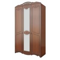 Шкаф распашной 3-х дверный Лотос Лакированный ШР-3