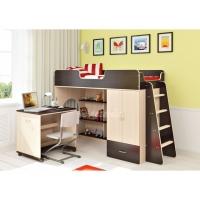 Кровать чердак Легенда 3.2 со столом