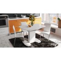 Стол обеденный Портофино СМ(ТД)-105.01.11(1) белый глянец