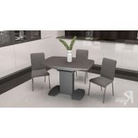 Стол обеденный Портофино СМ(ТД)-105.01.11(1) серый