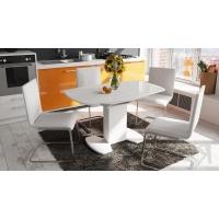 Стол обеденный Портофино СМ(ТД)-105.02.11(1) белый глянец