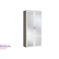 Шкаф 2х створчатый с зеркалом (440) Афина