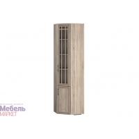 Шкаф угловой для книг правый (350) Бруно