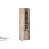 Шкаф угловой для книг левый (350) Бруно