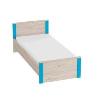 Кровать 900 Скаут (индиго)