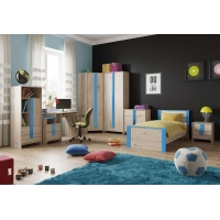 Комплект мебели для детской Скаут (индиго)