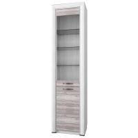 Шкаф-витрина 1V1D Оливия