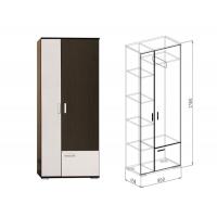 Шкаф 2-дверный №3 Статус (вудлайн)