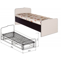 Кровать 800 №22 Статус (вудлайн)