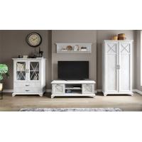 Комплект мебели для гостиной №1 Лорена (Бетон пайн)
