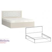 Кровать 1200 мягкая спинка Виктория