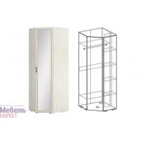 Шкаф угловой с зеркалом (540) Виктория