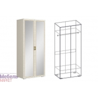 Шкаф 2х створчатый с зеркалом (540) Виктория