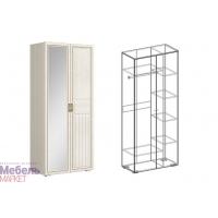 Шкаф 2х-ств. комбинированный правый (440) Виктория