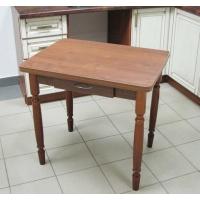 Стол обеденный Ломберный (поворотно-раскладной) с ящиком, орех