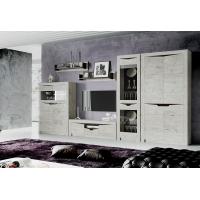 Мебель для гостиной Соренто (Дуб Бонифаций)