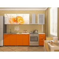 Кухонный гарнитур Апельсин 2,0 (ЛДСП)