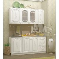 Кухонный гарнитур Лиза-2 белая 1,7