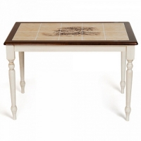 Стол обеденный с плиткой СТ 3045P античный