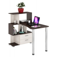 Компьютерный стол СЛ-5-3СТ-2+БЯ Домино