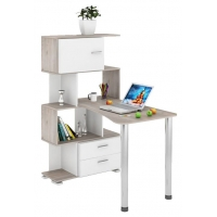 Компьютерный стол СЛ-5-4СТ-2+БД+БЯ Нельсон