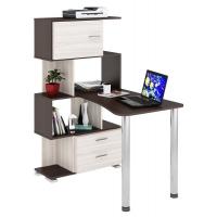Компьютерный стол СЛ-5-4СТ-2+БД+БЯ Домино