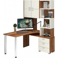 Компьютерный стол СР-500М-160 Латте правый