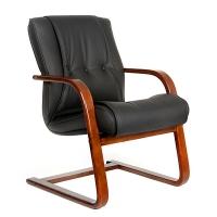 Кресло для постетителей CHAIRMAN 653V кожа