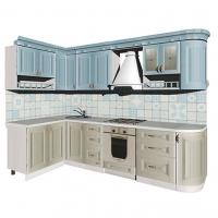Кухонный гарнитур угловой Кантри 1400/2920
