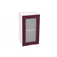 Шкаф верхний со стеклом ШВС 400 Н700 Лира