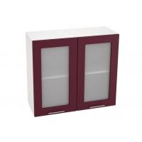 Шкаф верхний со стеклом ШВС 800 Н700 Лира